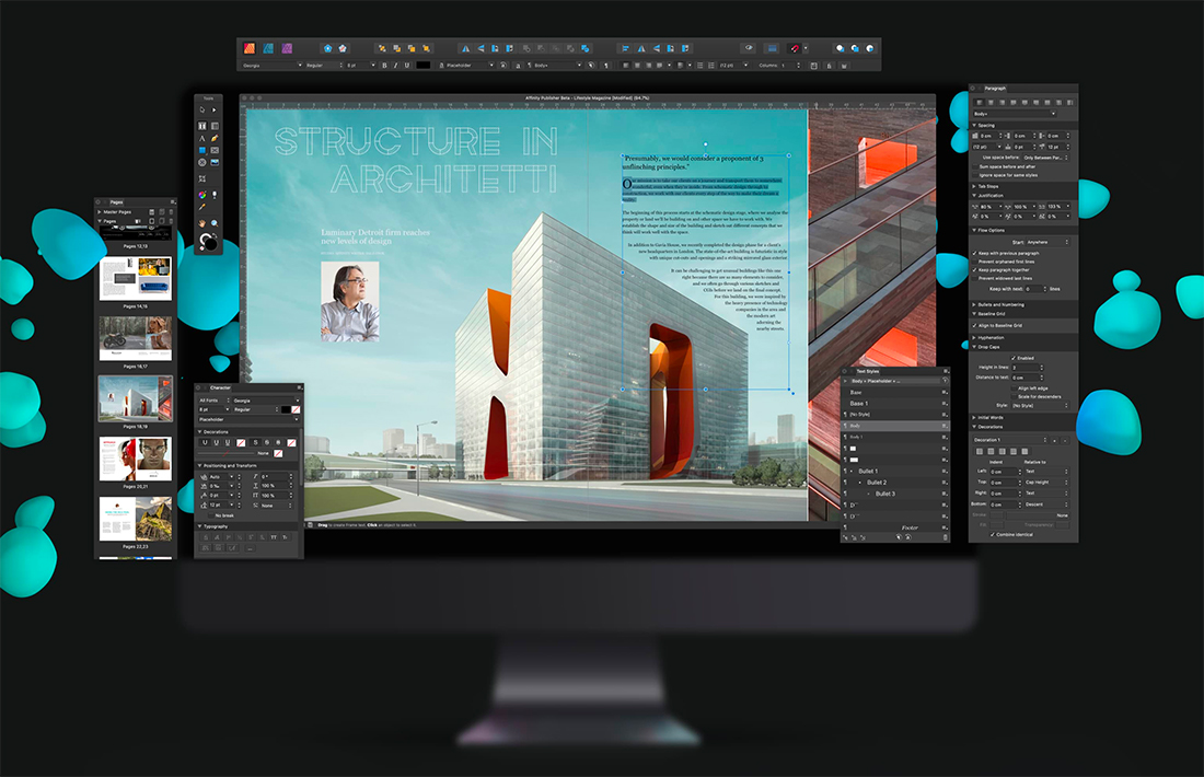 affinity publisher templates