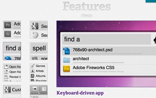 Alfred Screen features