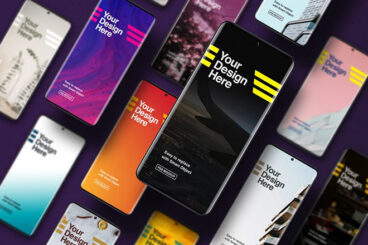 25+ Best Android Phone & Tablet Device Mockups (Free & Pro)