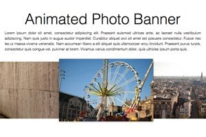 Build an Infinite Scrolling Photo Banner With HTML and CSS