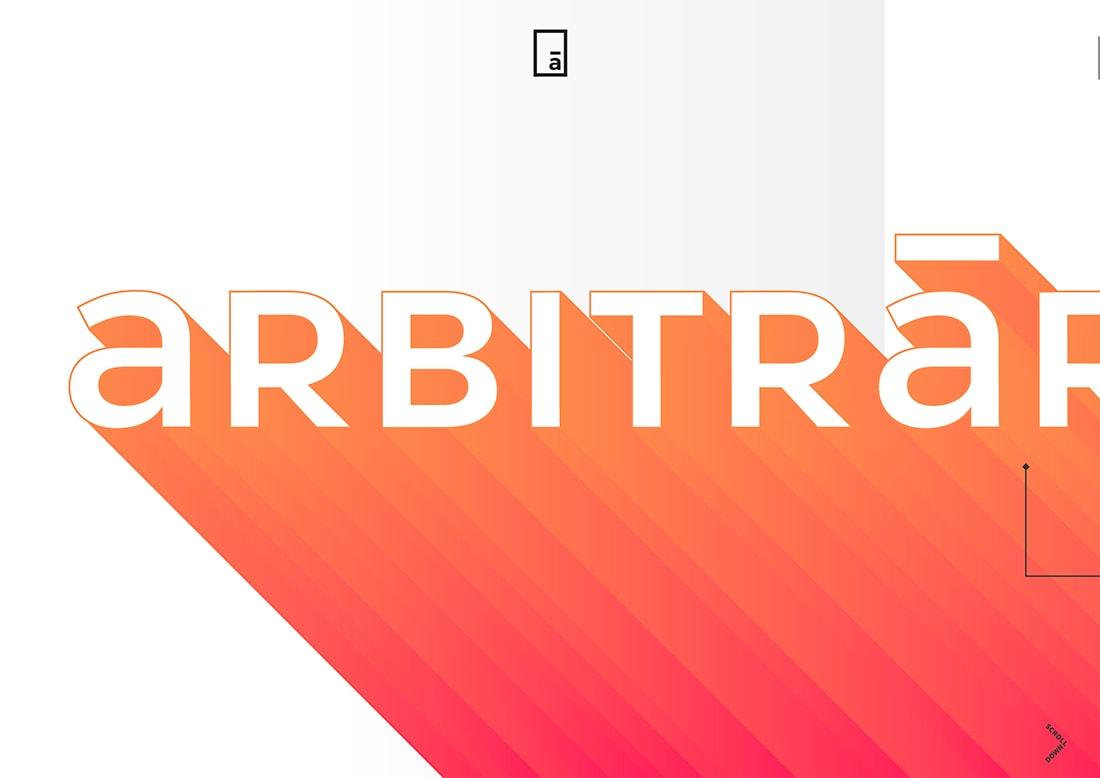 arbi Design Trend: Mono Gradients design tips  Trends|color|Inspiration|trends|web design