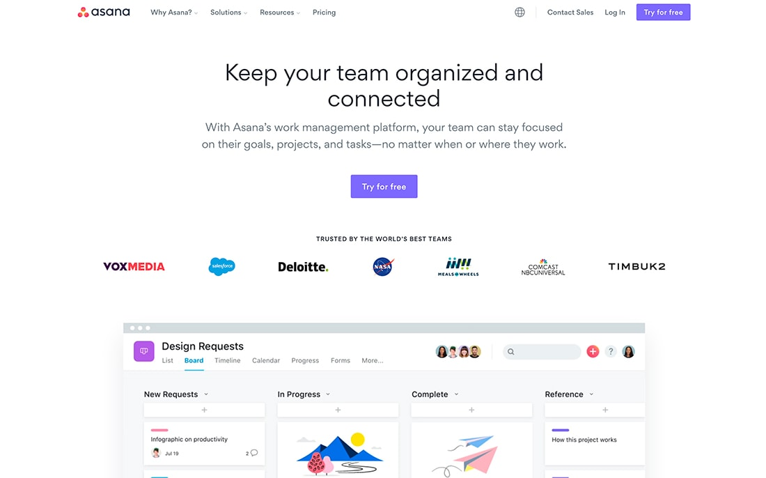 asana-1 20 Must-Have Apps + Tools for New Remote Workers design tips  Software|business|freelance