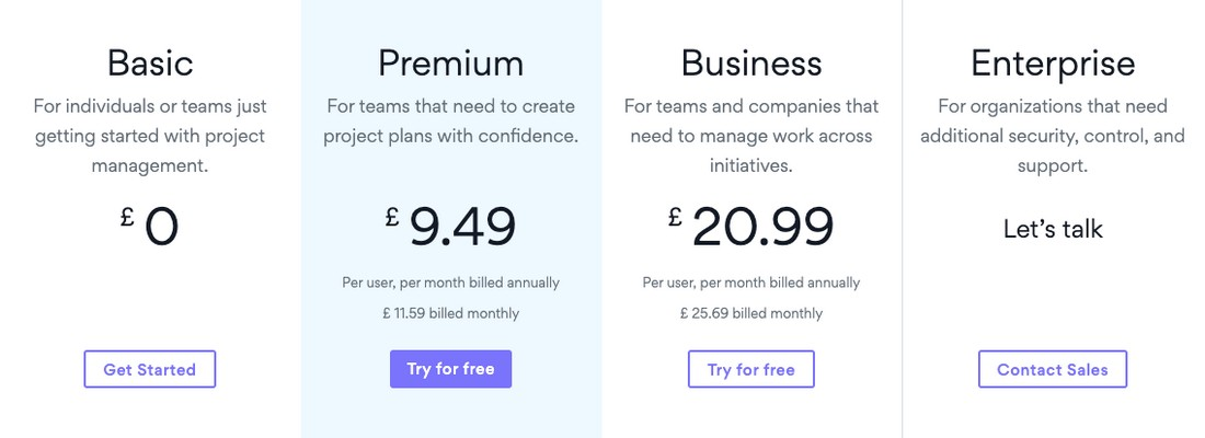 asana-price Best Project Management Software for Creatives 2020 design tips