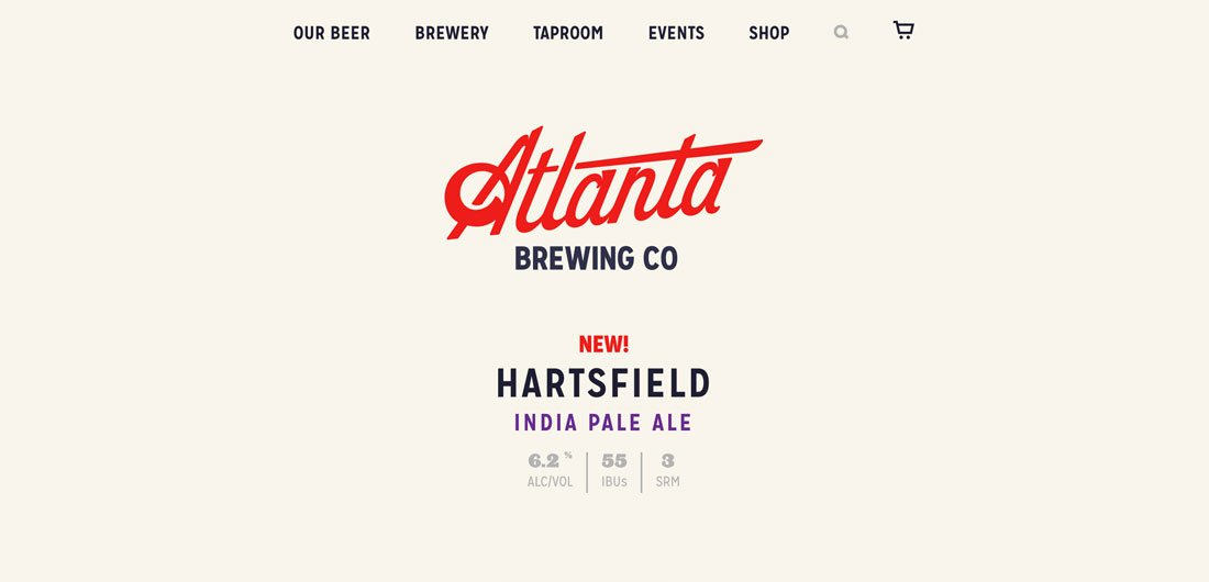 atlantabeer Choosing the Best Logo Fonts: 10 Tips & Examples design tips