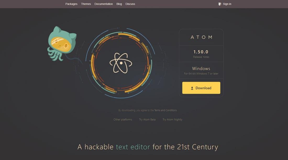 atom-2 8 Best Code Editors for Designers in 2020 (Free & Premium) design tips