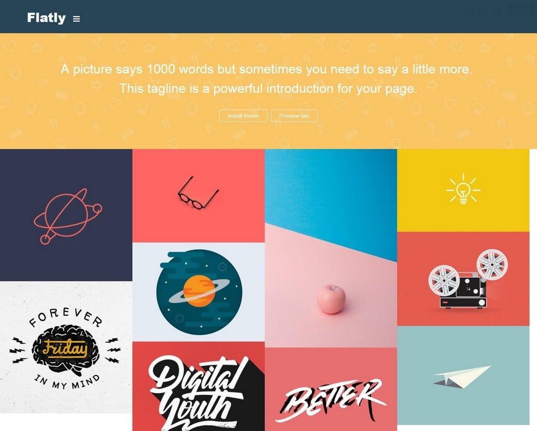 aura-tumblr-theme 50+ Best Free & Premium Tumblr Themes 2018 design tips