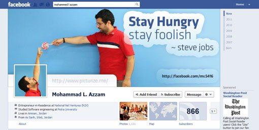 azzam Cách Tạo Ảnh Cover cho Facebook Timeline
