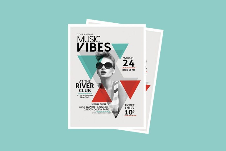 Best Music  Band Flyer Templates  Design Shack