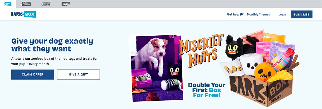 barkbox 7 Ways Your UX Needs to Extend Beyond Your Website (And How to Do It) design tips