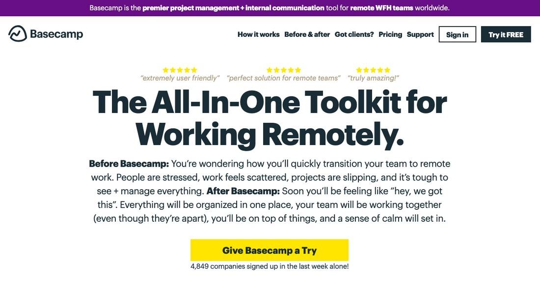 basecamp-1 Best Project Management Software for Creatives 2020 design tips