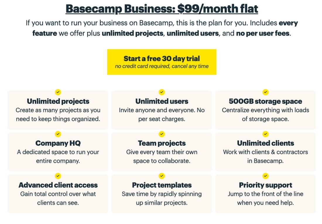 basecamp-pricing Best Project Management Software for Creatives 2020 design tips