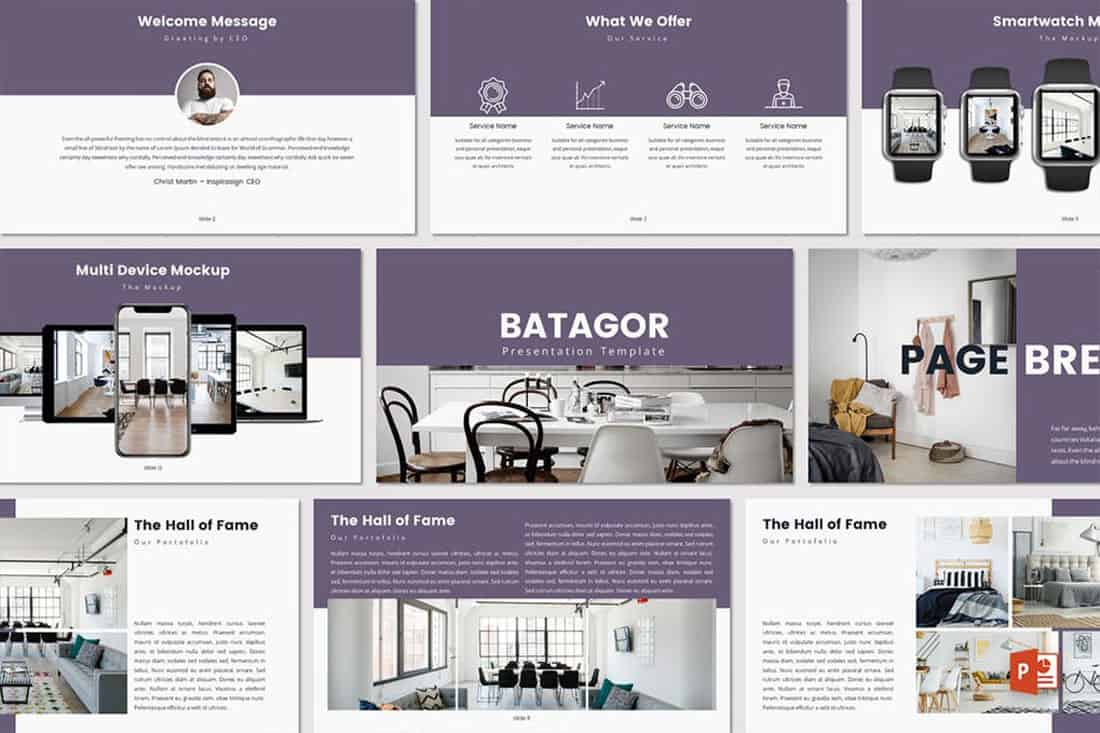 batagor 20 Stylish PowerPoint Color Schemes design tips