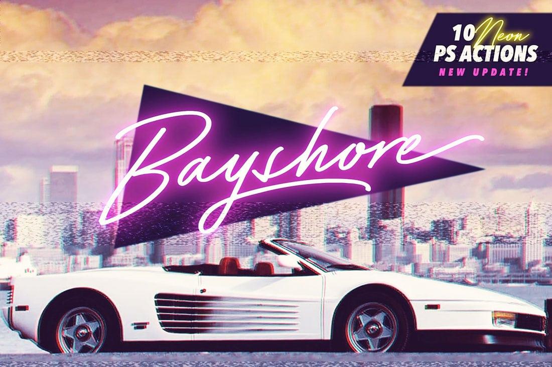 bayshore 80s Fonts: A Retro Typographic Trend (+ Examples) design tips