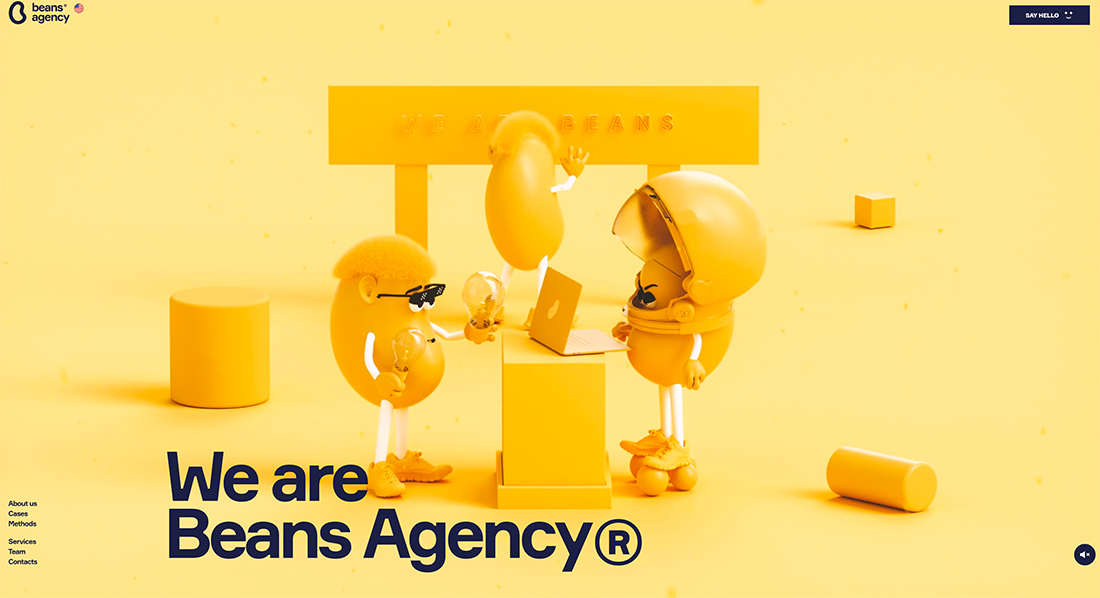 beans-agency Design Trend: Geo Shapes & Patterns (With Animation) design tips