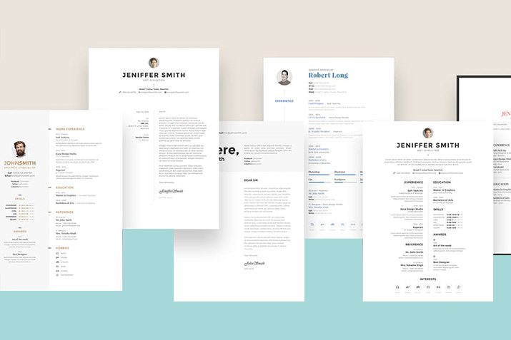 the best cv resume templates 50 examples design shack - Excellent Resume Templates