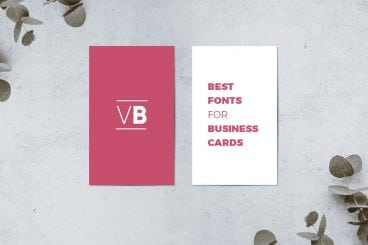 30+ Best Fonts for Business Cards