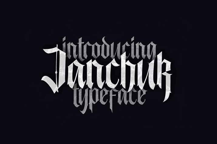 30  best gothic fonts