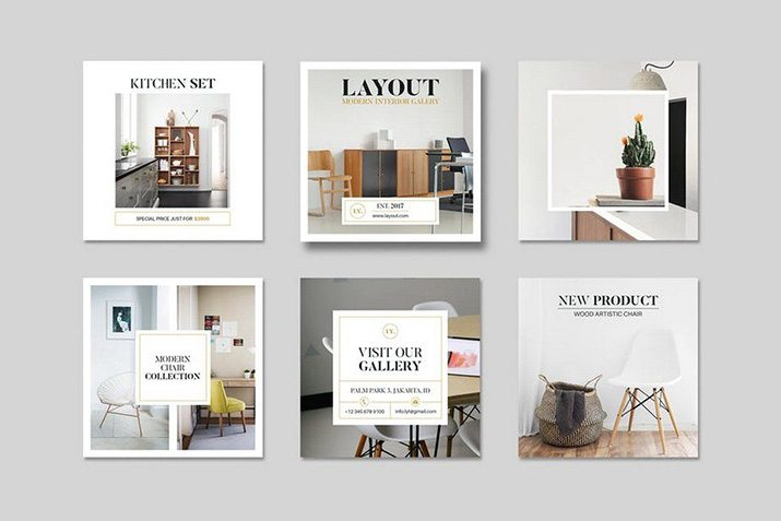 50+ Best Instagram Templates & Banners | Design Shack