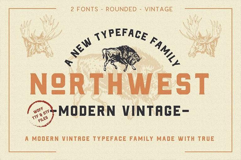 20+ Best Vintage Fonts   Design Shack
