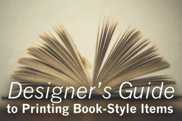 Designer's Guide to Printing Book-Style Items