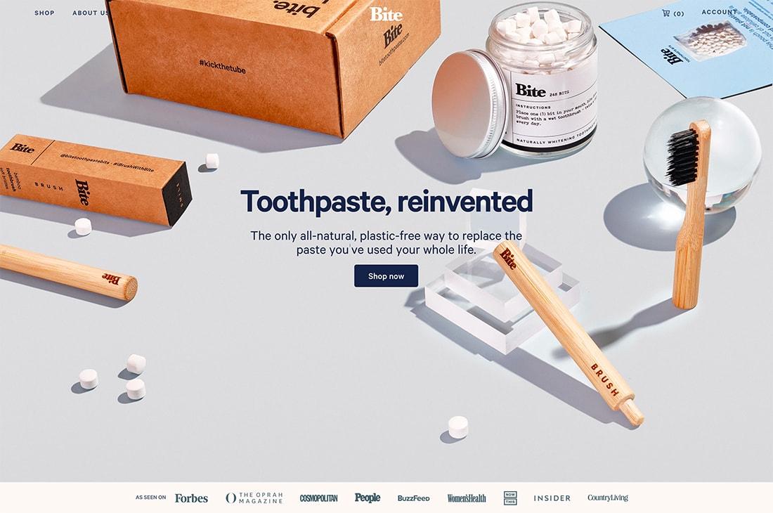 bite-paste Design Trend: 3D Geometry design tips  Trends|trends|web design