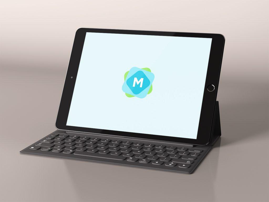 black-ipad-pro-keyboard-mockup-1024x768 20+ Best iPad Pro Mockups 2020 (Free & Premium) design tips  Inspiration|iPad pro|mockup