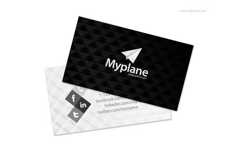 70 corporate creative business card mockups design shack black and white business card template accmission Image collections