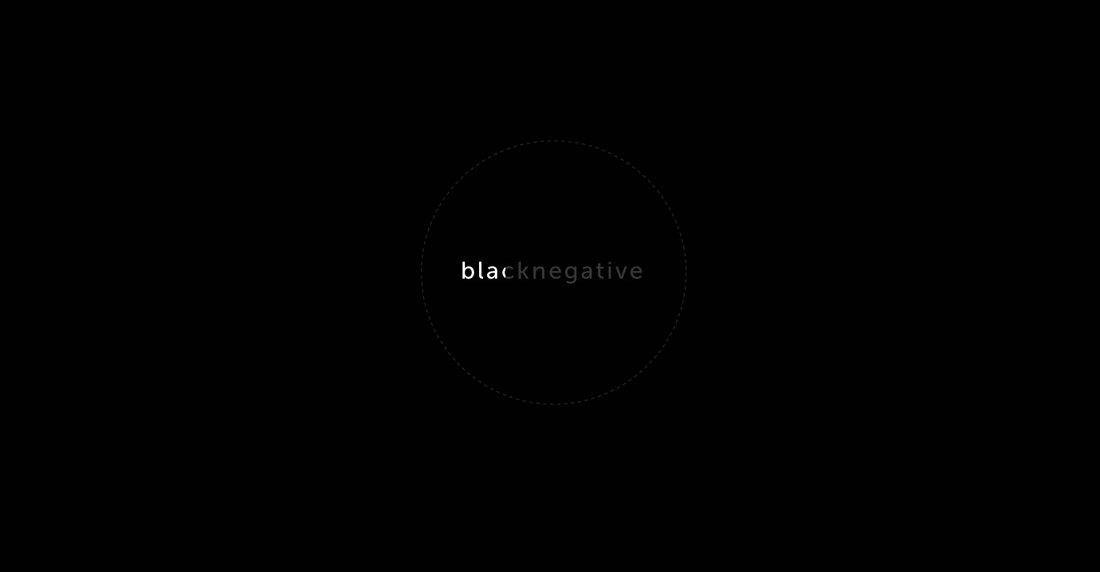 black negative