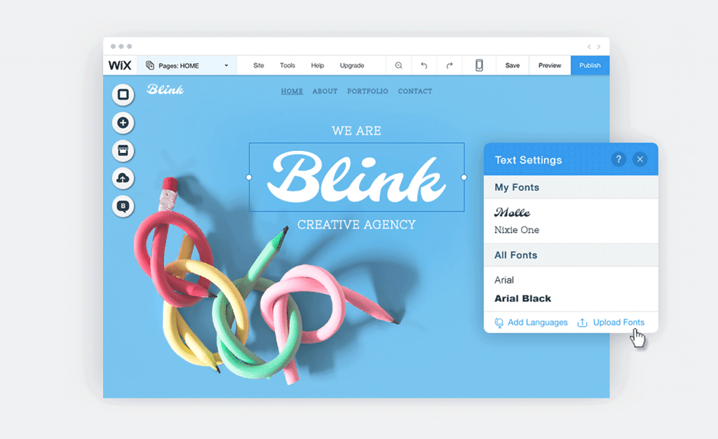 blink-1024x626 Build a Website for Any Business With Wix design tips