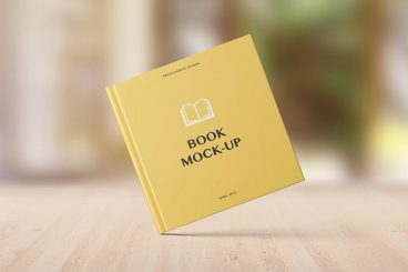 20+ Best Book Cover Mockup Templates