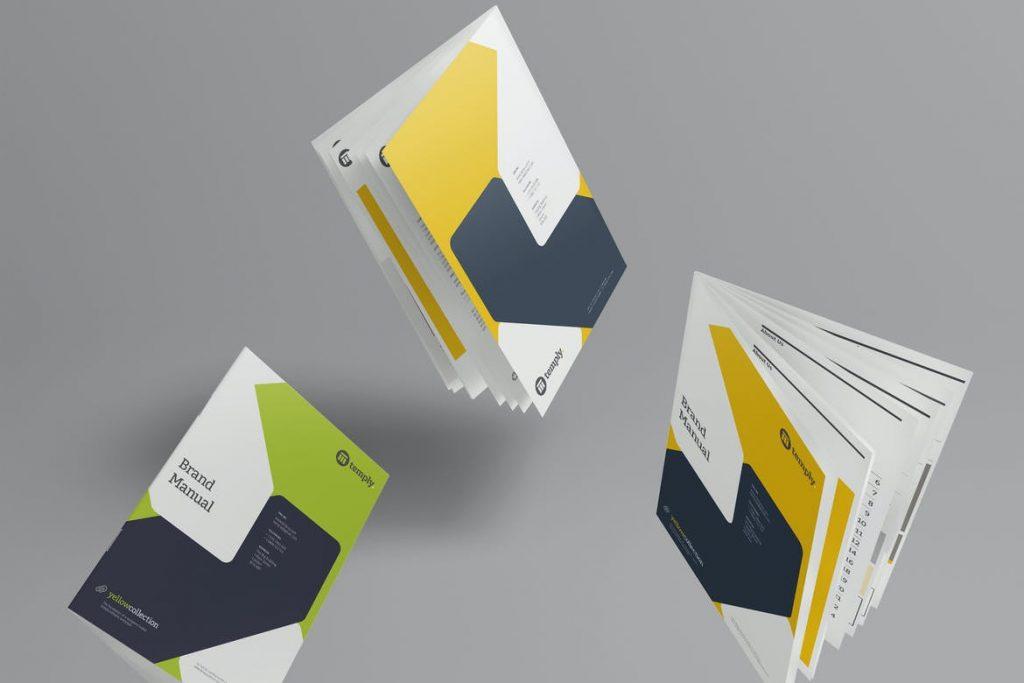 booklet-mockups-12-1024x683 20+ Booklet Mockup Templates (Free & Premium) design tips