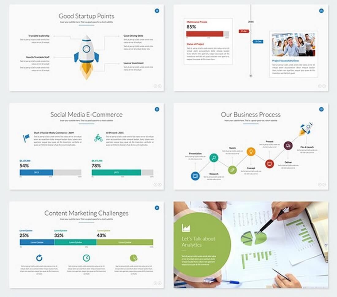 25 keynote business slide templates design shack boost business keynote template accmission Images