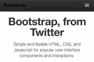 Twitter Bootstrap 2: Bootstrap Goes Responsive