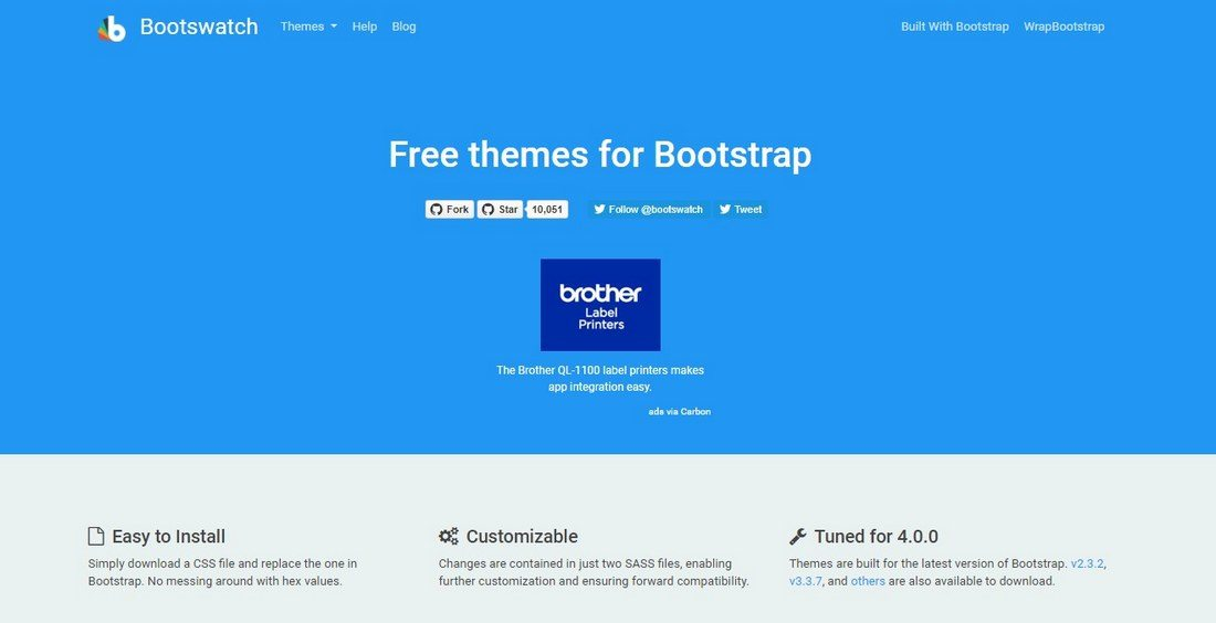 bootswatch 20+ Awesome Resources for Bootstrap Lovers design tips