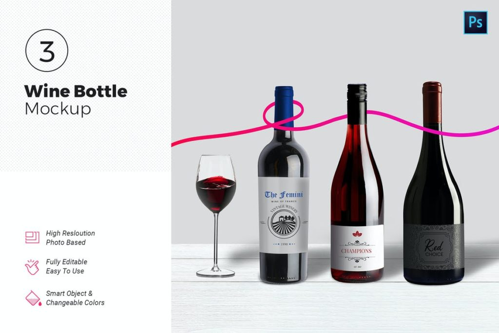 bottle-mockups-8-1024x683 20+ Bottle Mockup Templates (Free & Pro) design tips