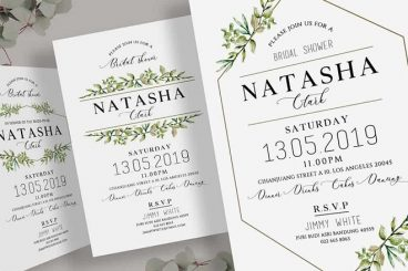12+ Best Baby & Bridal Shower Invitation Templates
