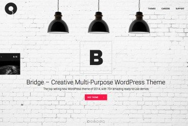 Power-Up WordPress With the Bridge Multi-Purpose Theme