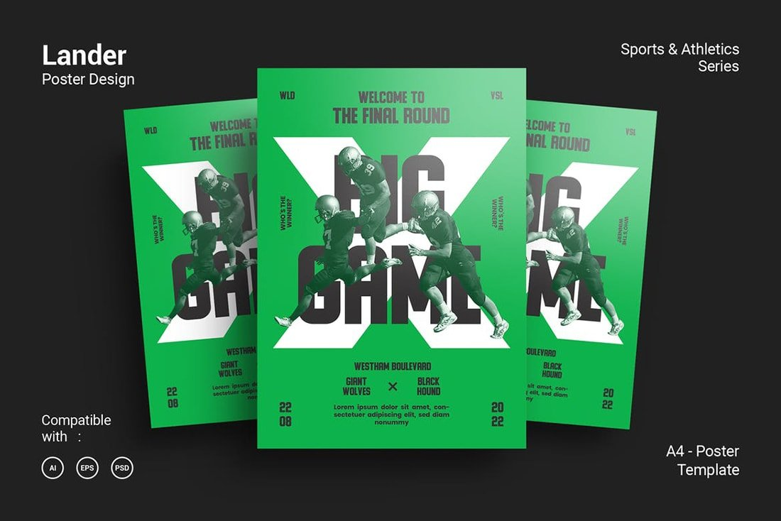 brightgreen-poster 20 Stylish Poster Color Schemes design tips