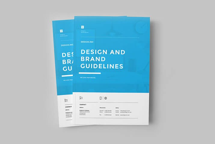 70 modern corporate brochure templates