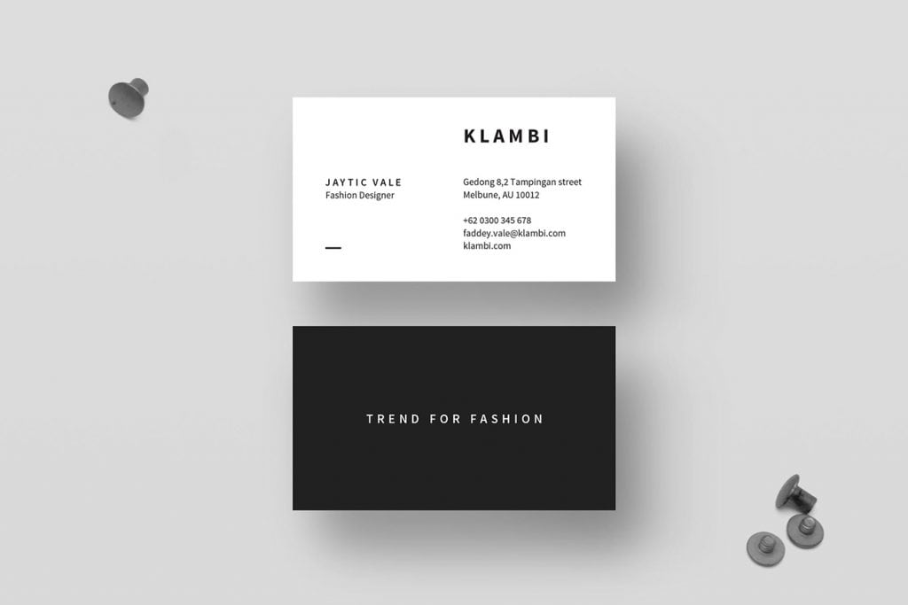 Business card templates design shack while not everyone prints business cards in a standard shape and size a strong majority use common specifications standard sized business cards are easy colourmoves