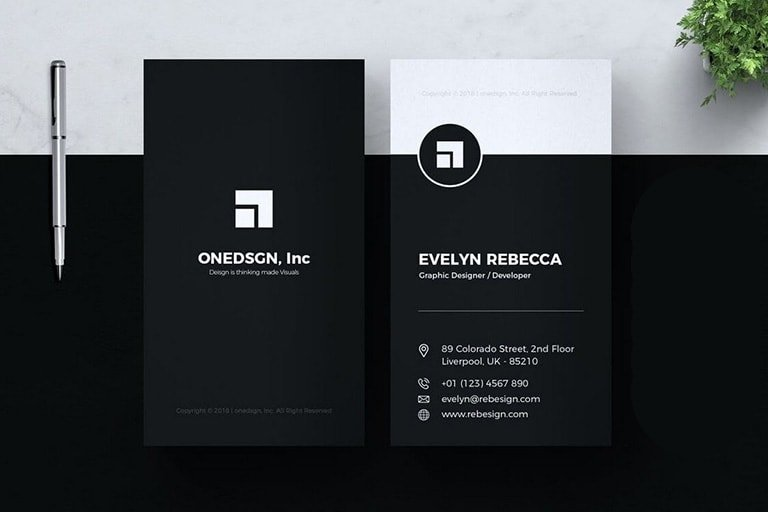 Business Card Templates For Google Docs