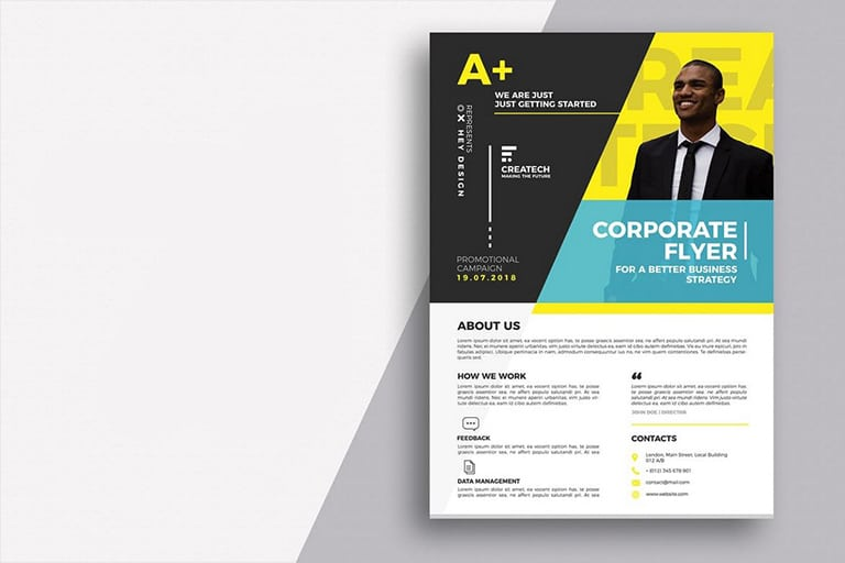 20 business flyer templates word psd design shack