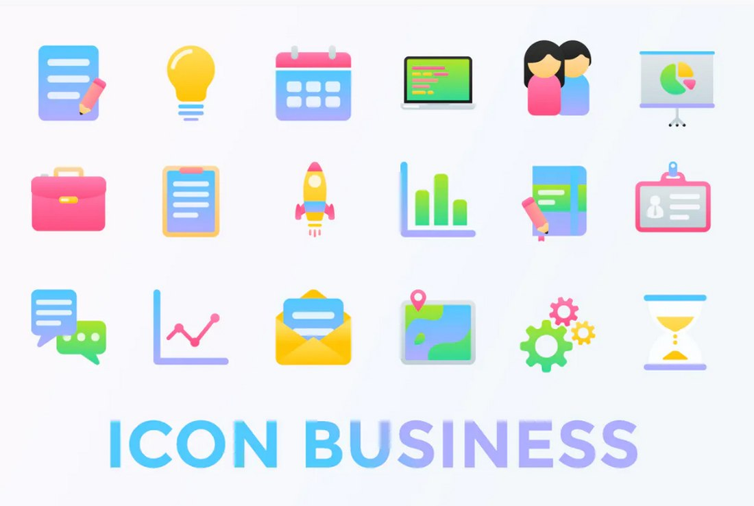business-icons 7 New & Modern Color Trends 2021 design tips