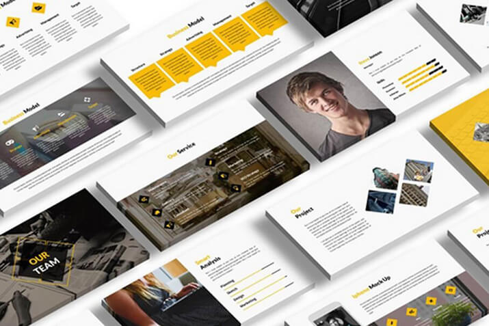 25 keynote business slide templates design shack