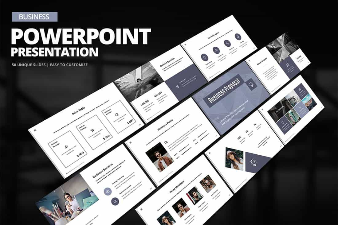 business-ppt 20 Stylish PowerPoint Color Schemes design tips