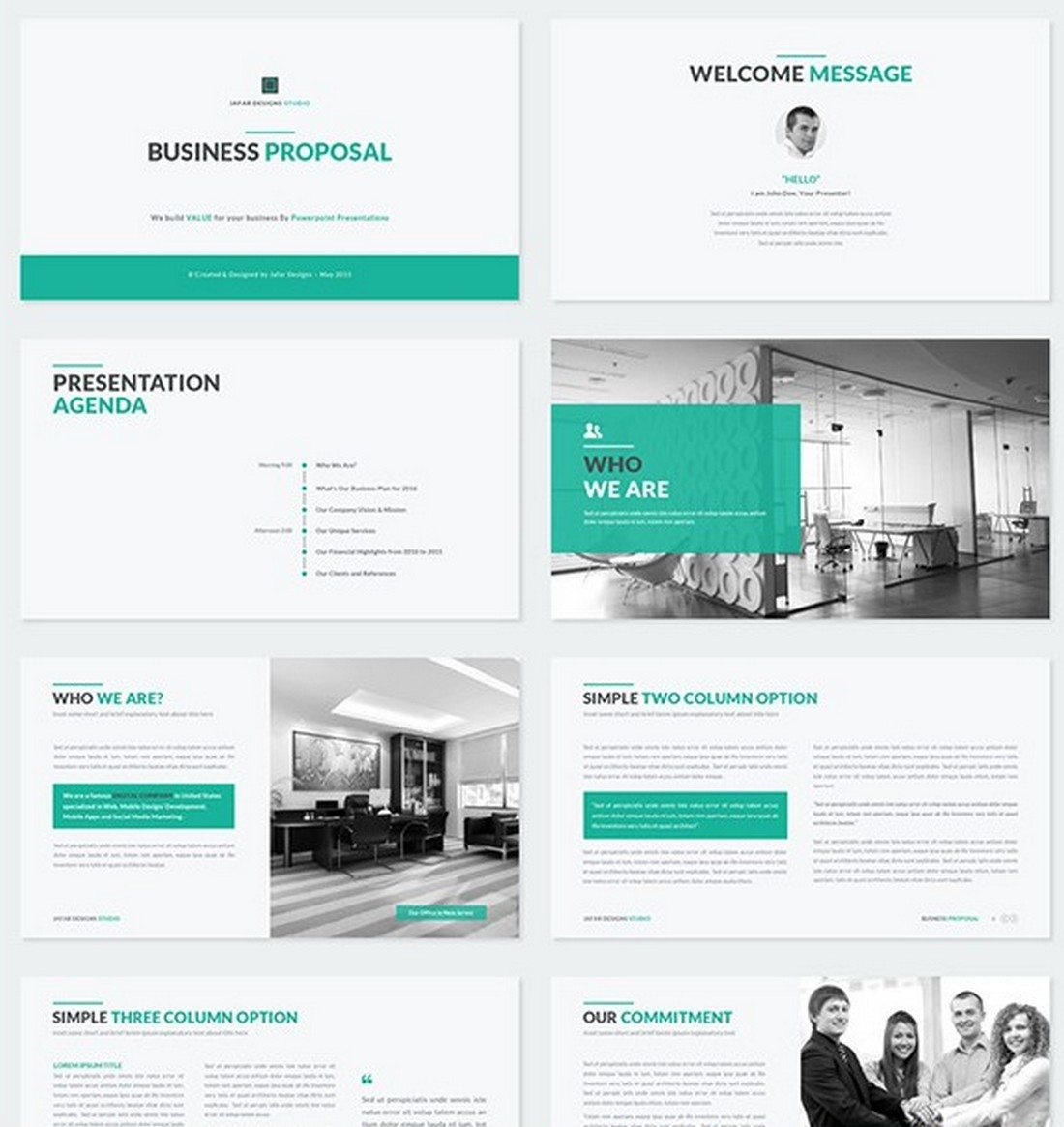 business-proposal 30+ Best Keynote Templates of 2018 design tips
