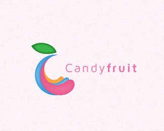 Candy Fruit Logo