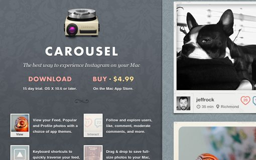 Carousel App for Mac OSX