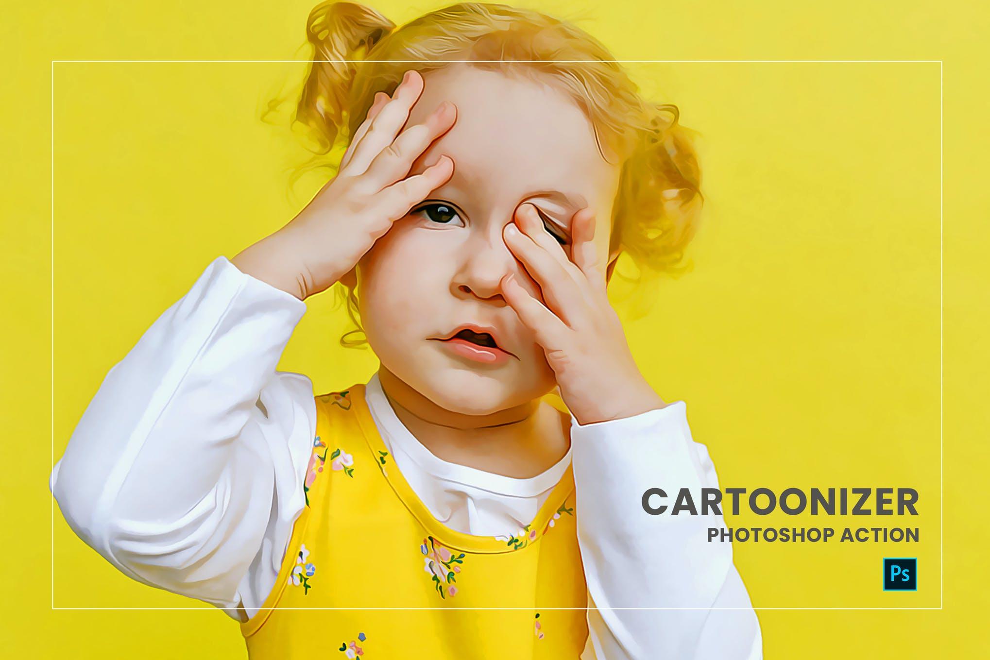 cartoon effects photoshop