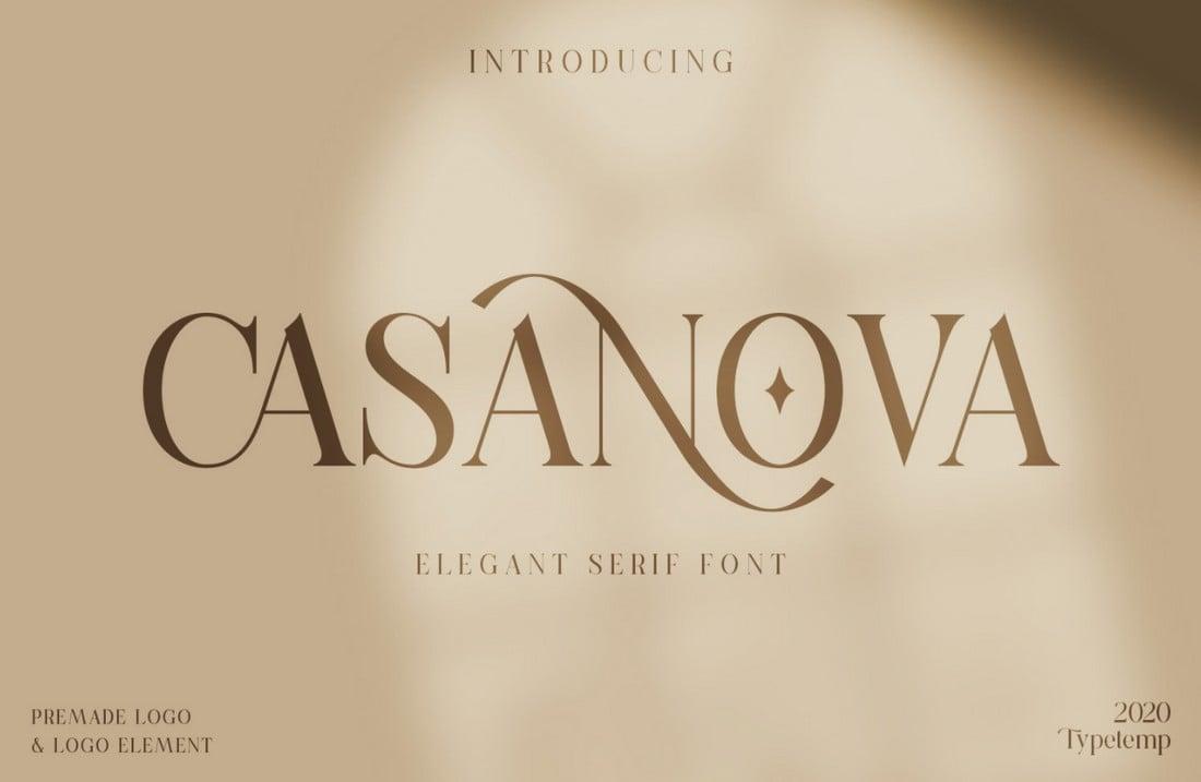 casanova free font